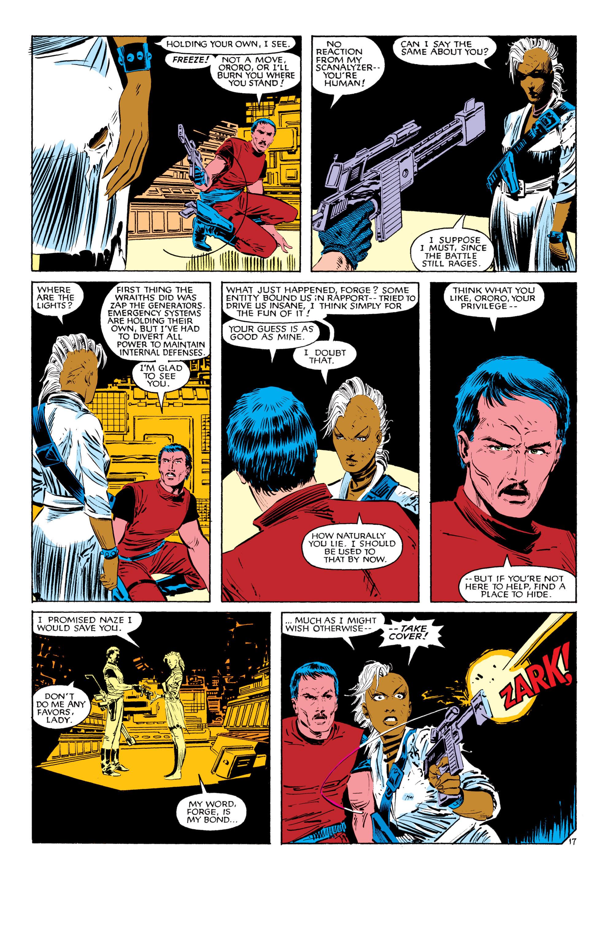 Read online Uncanny X-Men (1963) comic -  Issue #187 - 18