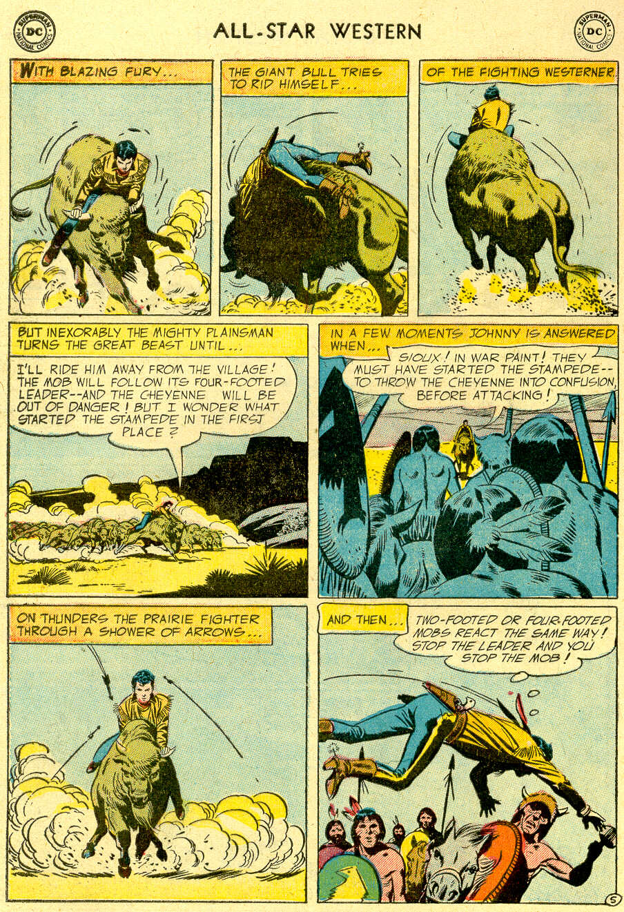 Read online All-Star Western (1951) comic -  Issue #83 - 32