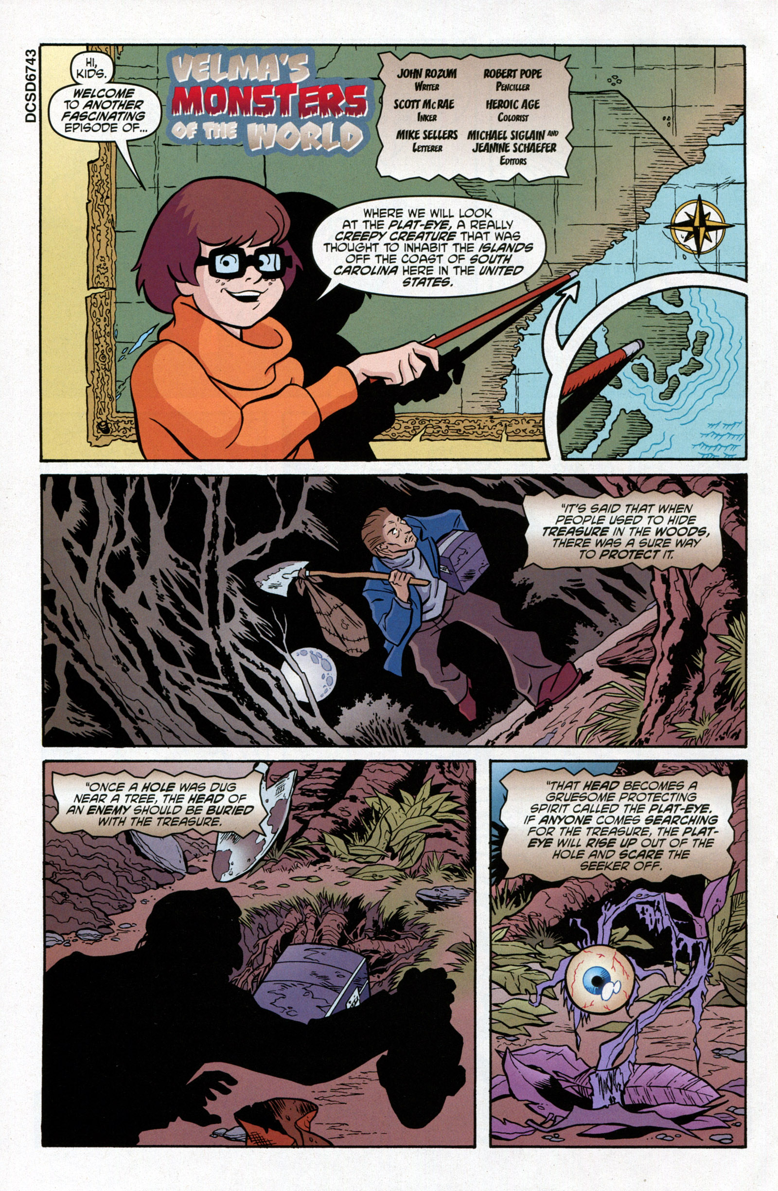 Read online Scooby-Doo: Where Are You? comic -  Issue #15 - 32