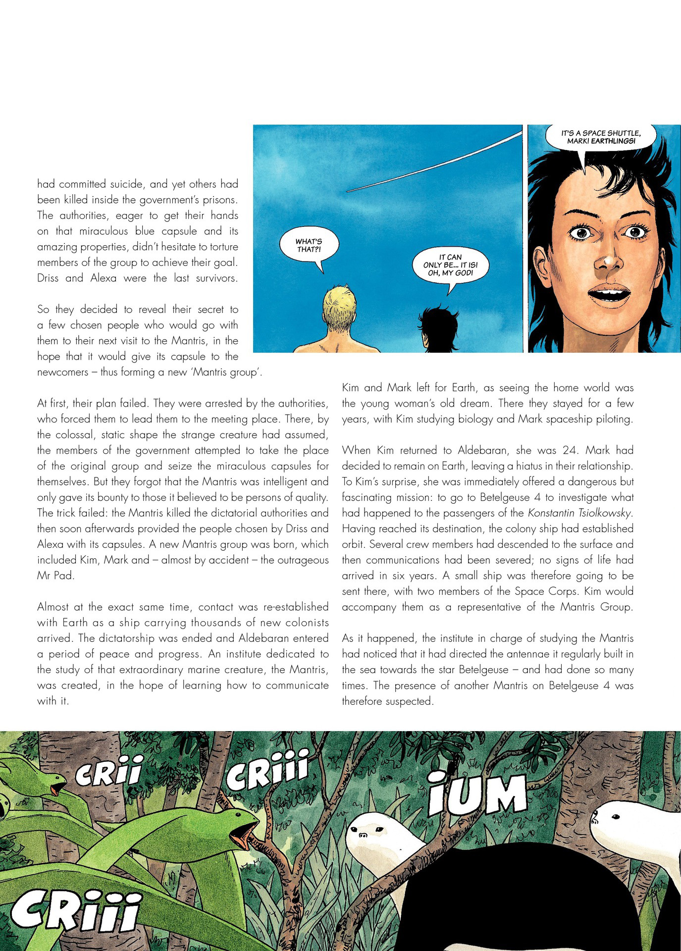 Read online Antares comic -  Issue #6 - 6