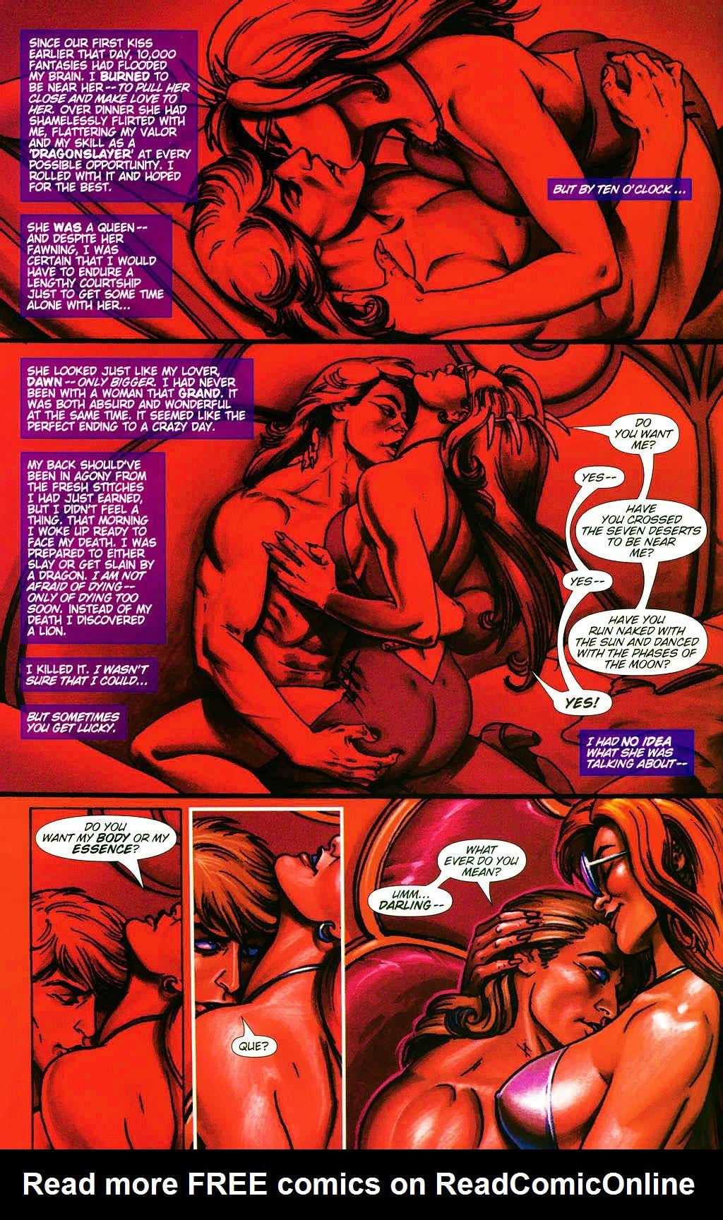 Read online Dawn: Three Tiers comic -  Issue #4 - 4