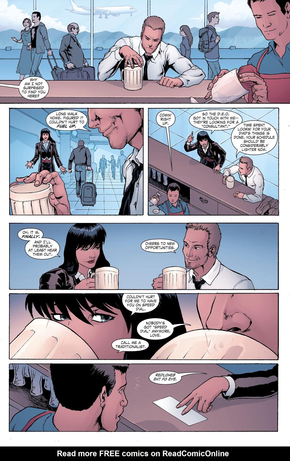 Read online Smallville Season 11 [II] comic -  Issue # TPB 8 - 44