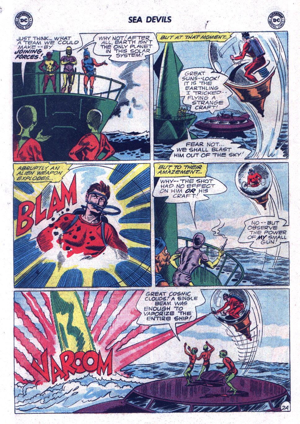 Read online Sea Devils comic -  Issue #17 - 32