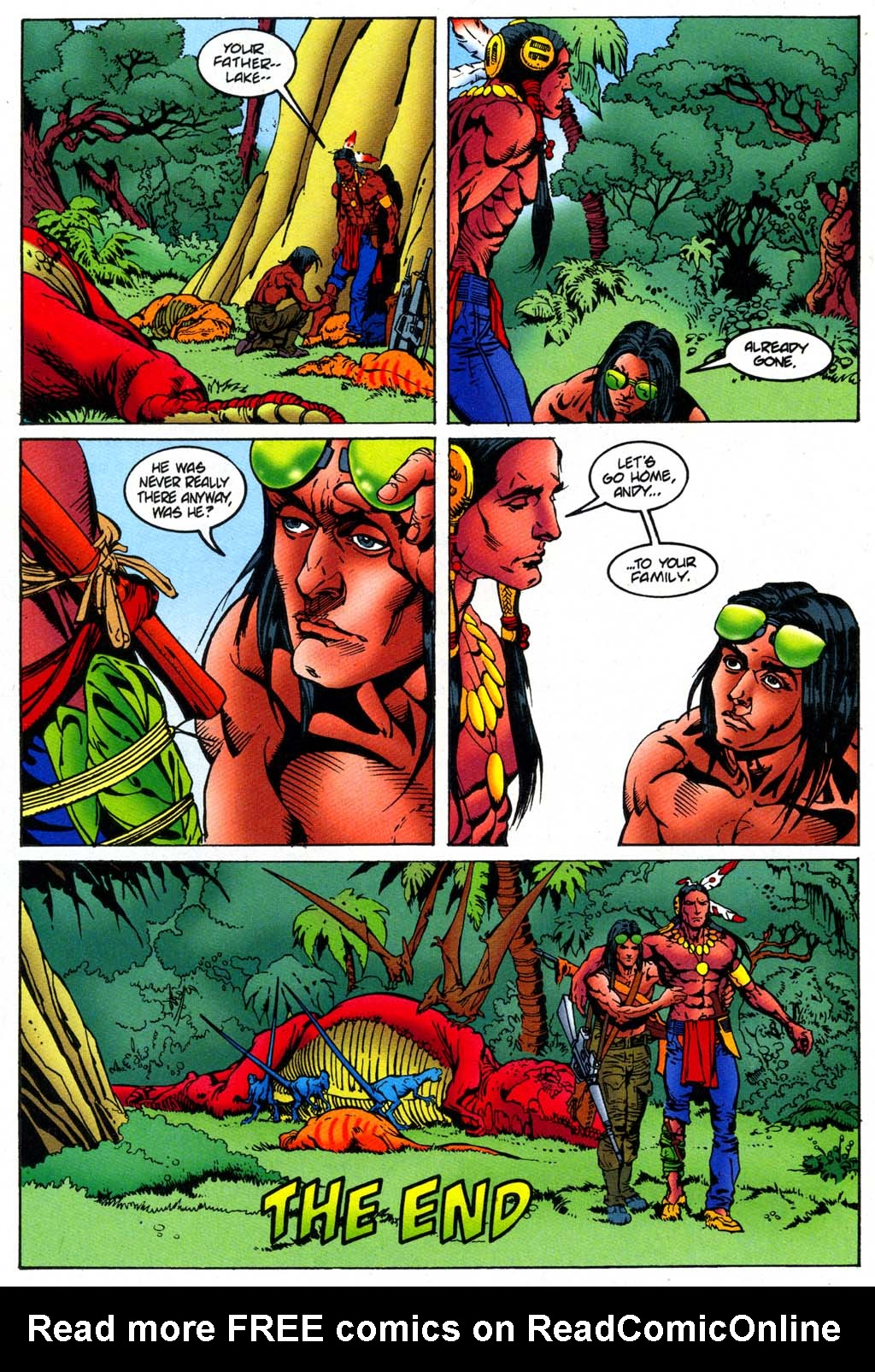 Read online Turok, Dinosaur Hunter (1993) comic -  Issue #47 - 22