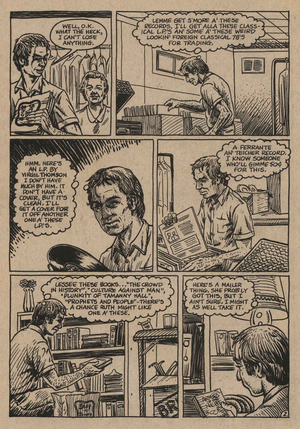 American Splendor (1976) issue 6 - Page 37