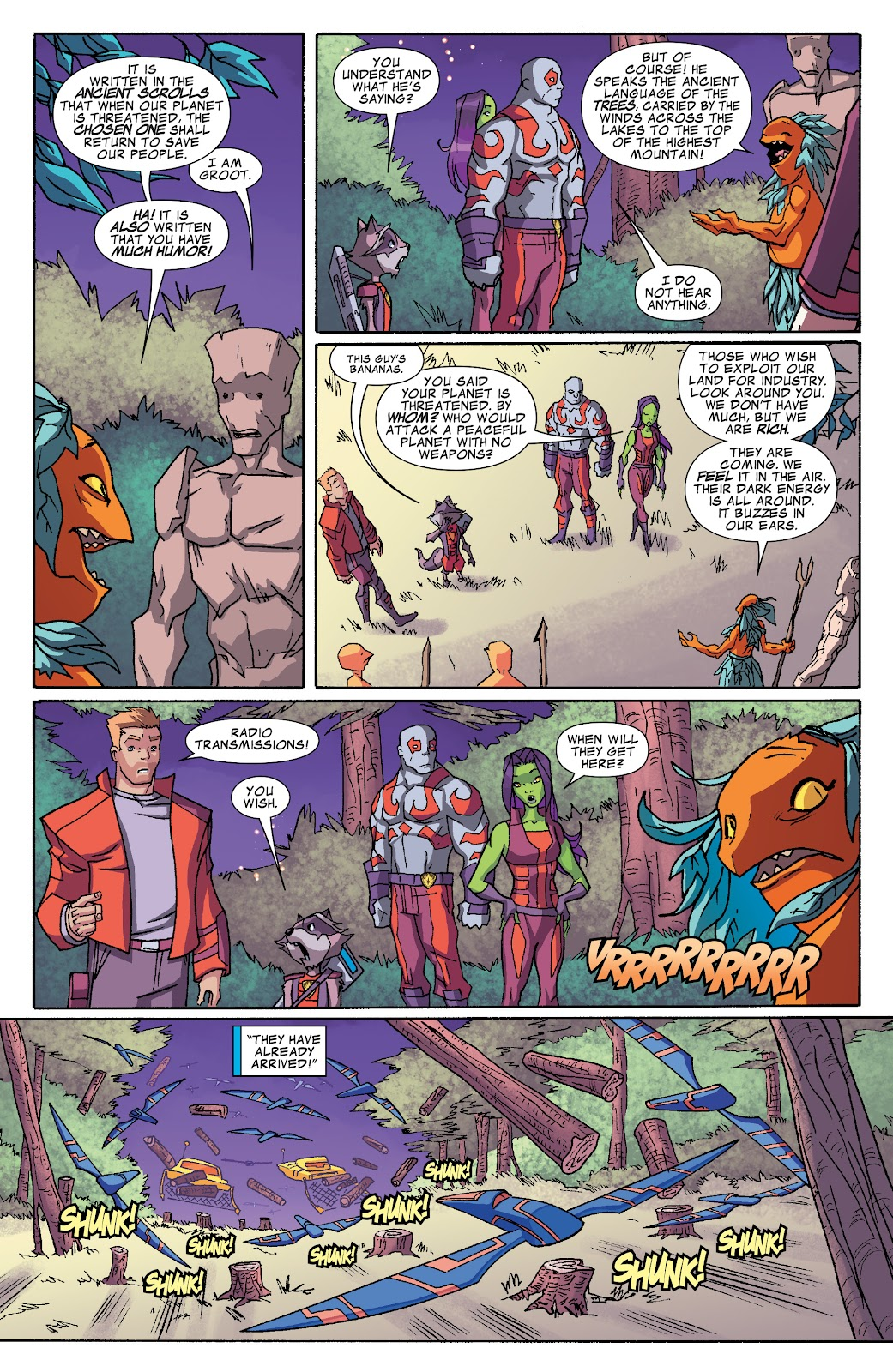 Read online Marvel Universe Guardians of the Galaxy [I] comic -  Issue #4 - 5