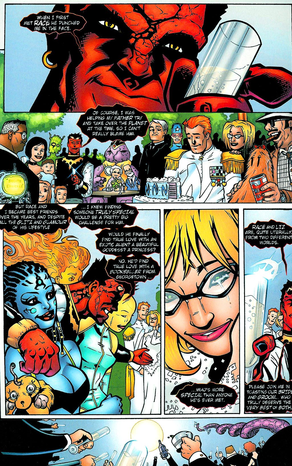 Read online Noble Causes (2002) comic -  Issue #1 - 7