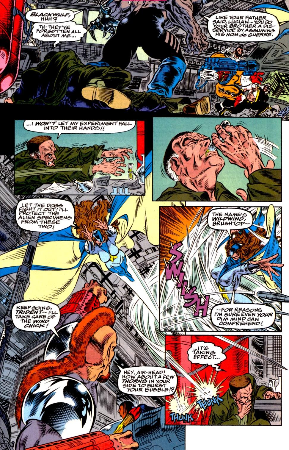 Read online Blackwulf comic -  Issue #2 - 19