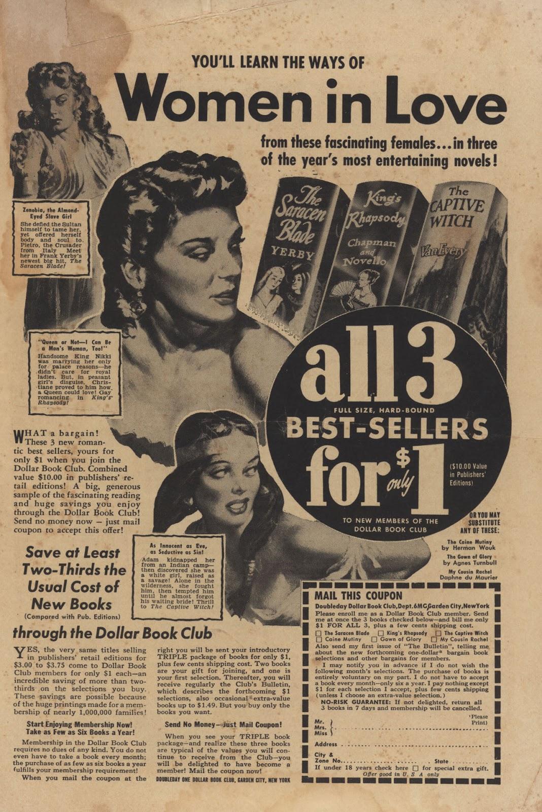 Love Romances (1949) issue 28 - Page 35