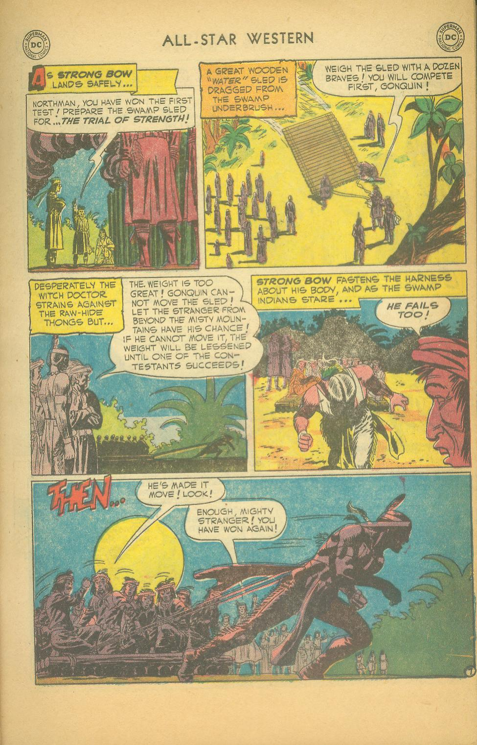 Read online All-Star Western (1951) comic -  Issue #61 - 9