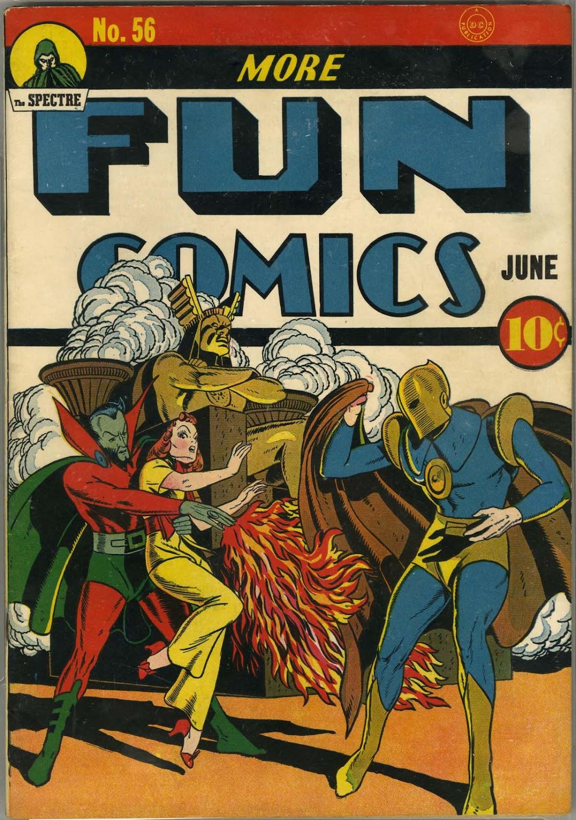 More Fun Comics 56 Page 1