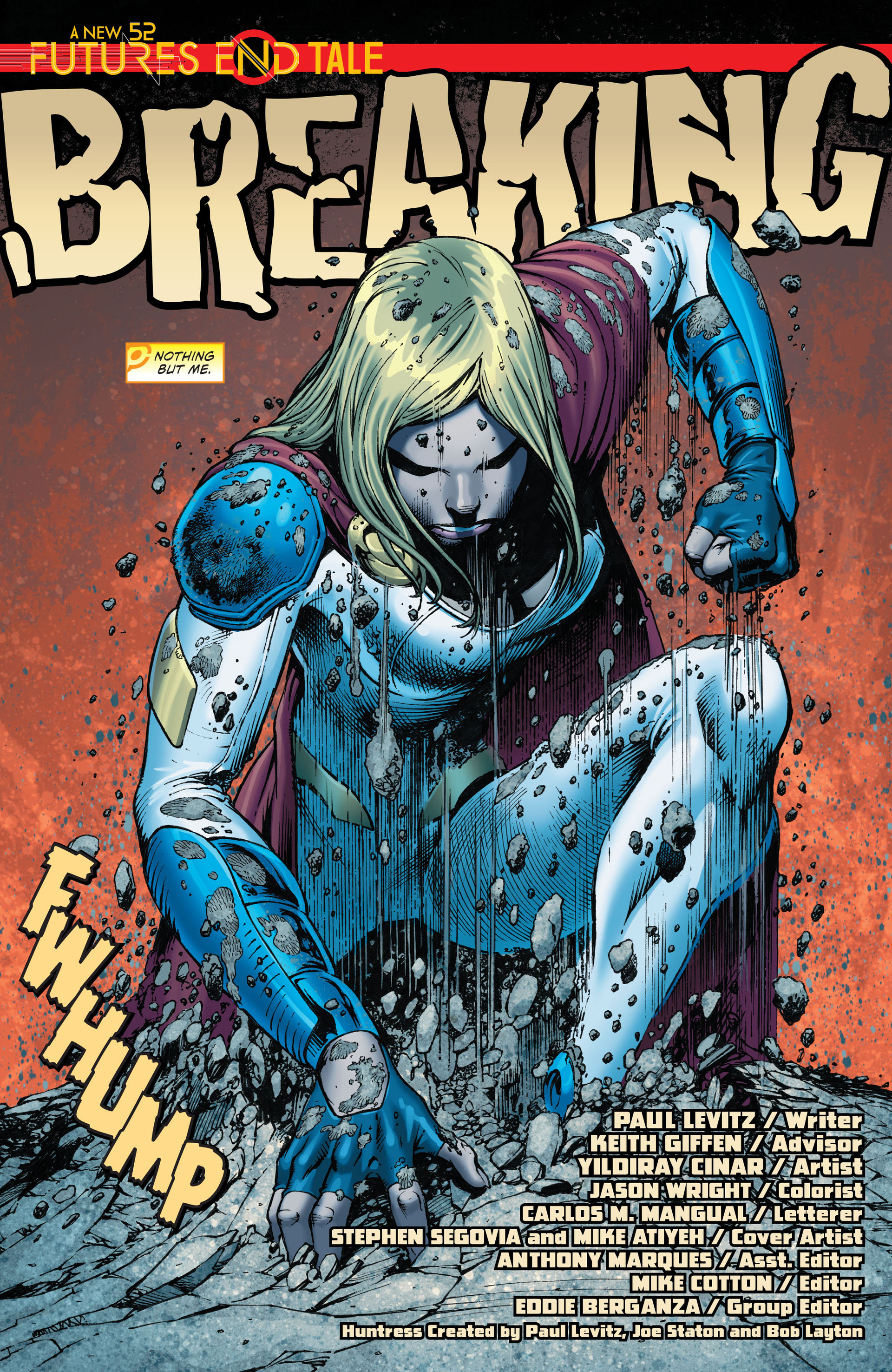 Read online Worlds' Finest: Futures End comic -  Issue # Full - 3
