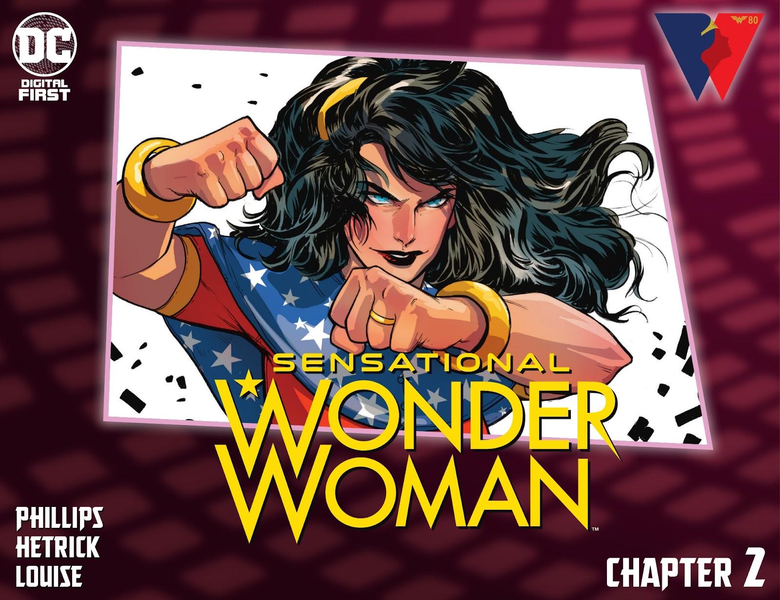 Sensational Wonder Woman issue 2 - Page 1