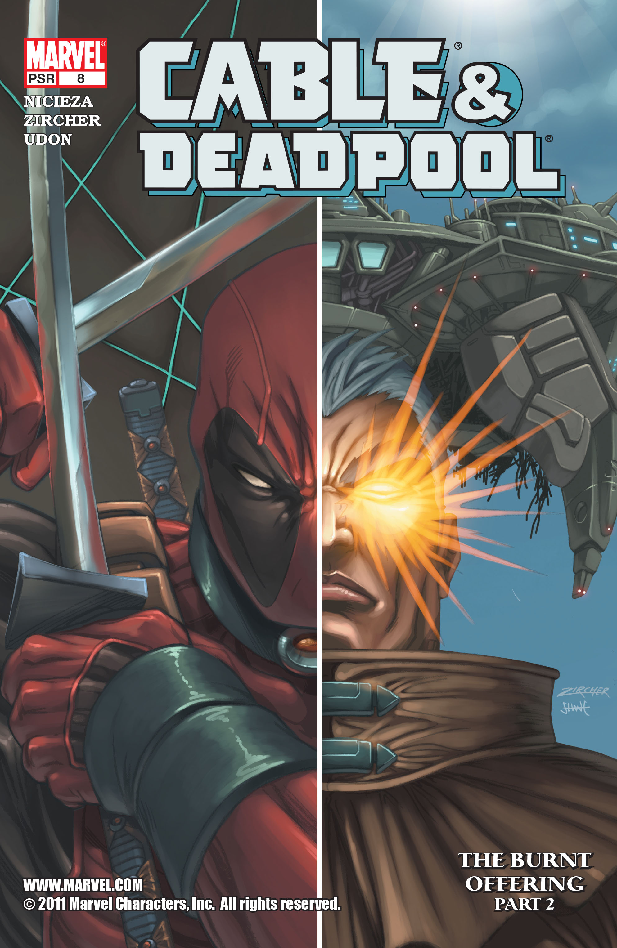 Cable and Deadpool 8 Page 1