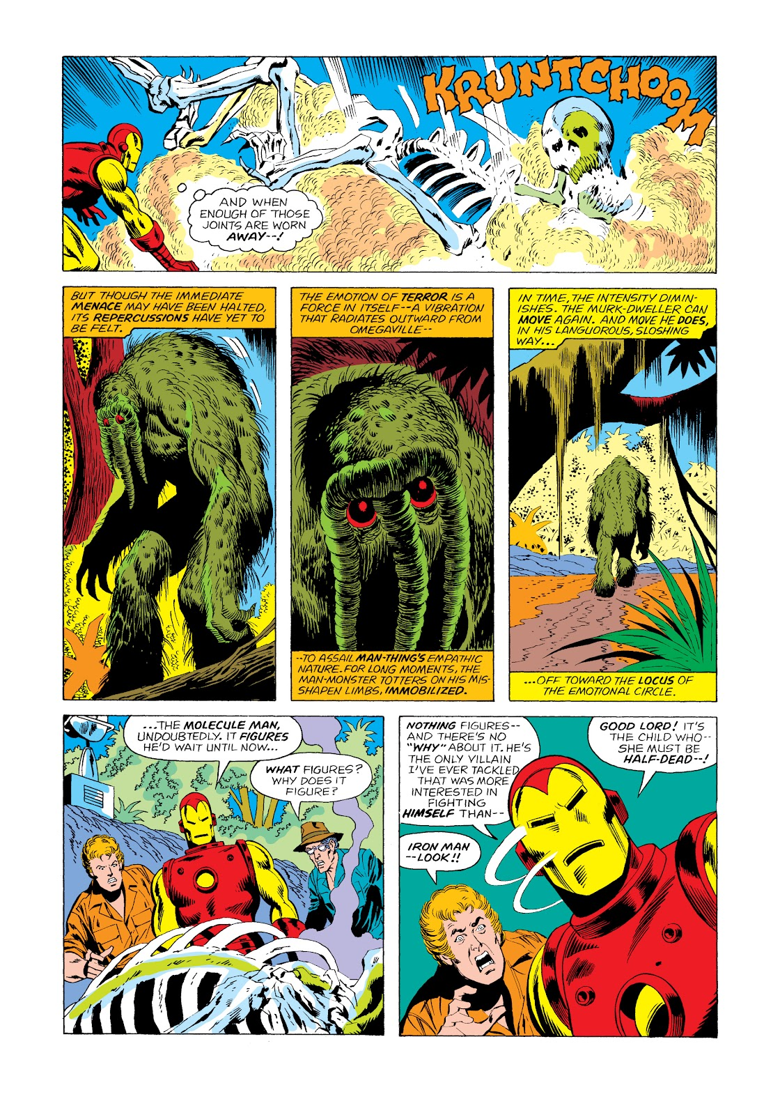 Read online Marvel Masterworks: The Invincible Iron Man comic -  Issue # TPB 11 (Part 2) - 49