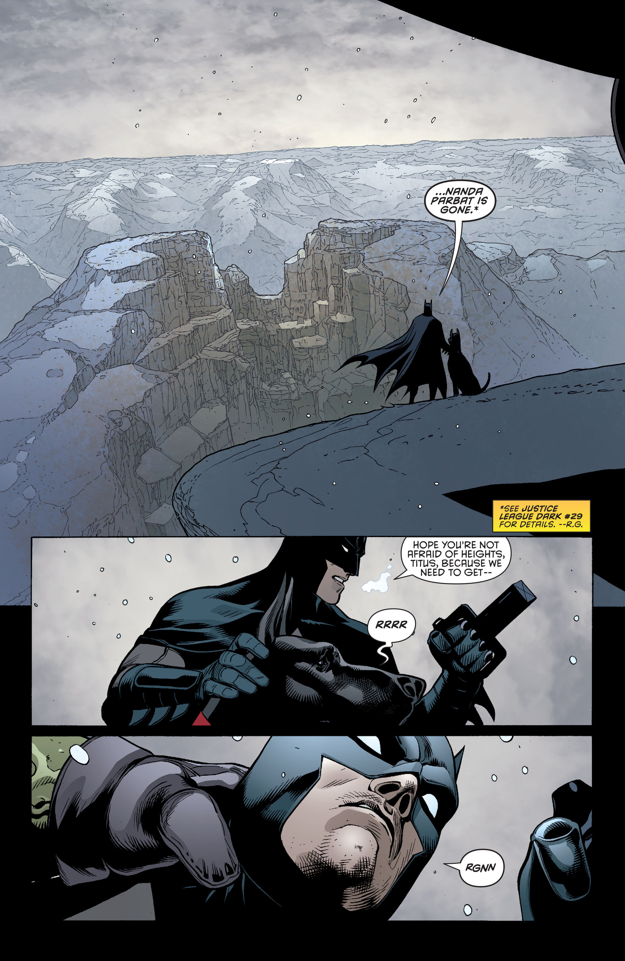 Read online Batman and Robin (2011) comic -  Issue #31 - Batman and Frankenstein - 5