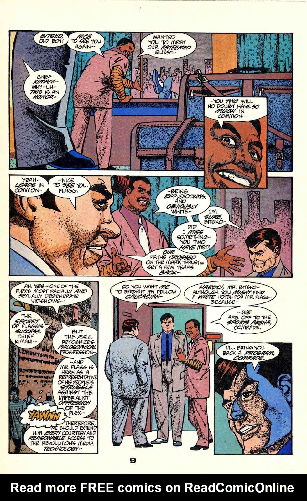 Howard Chaykin's American Flagg issue 2 - Page 11