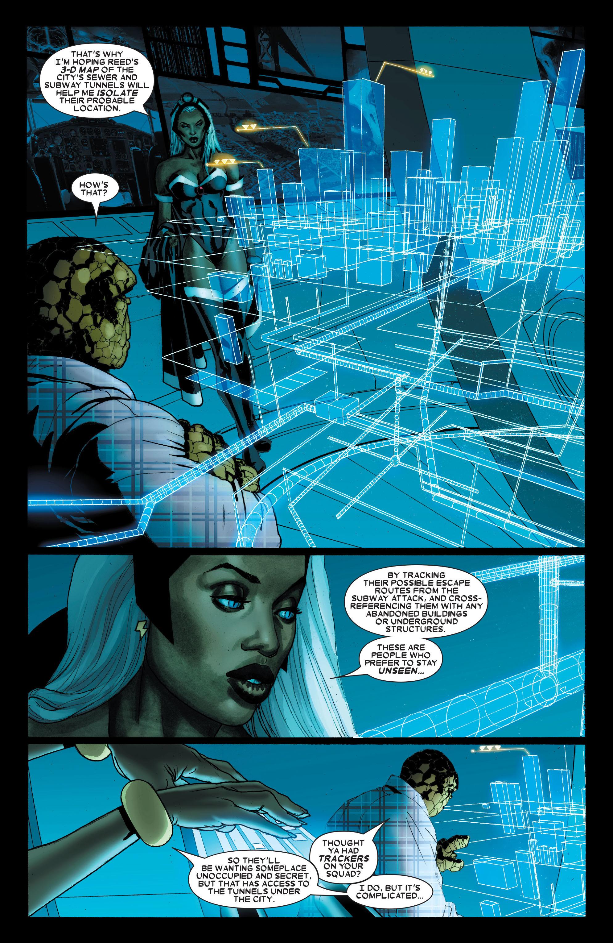 Read online Uncanny X-Men (1963) comic -  Issue #489 - 6