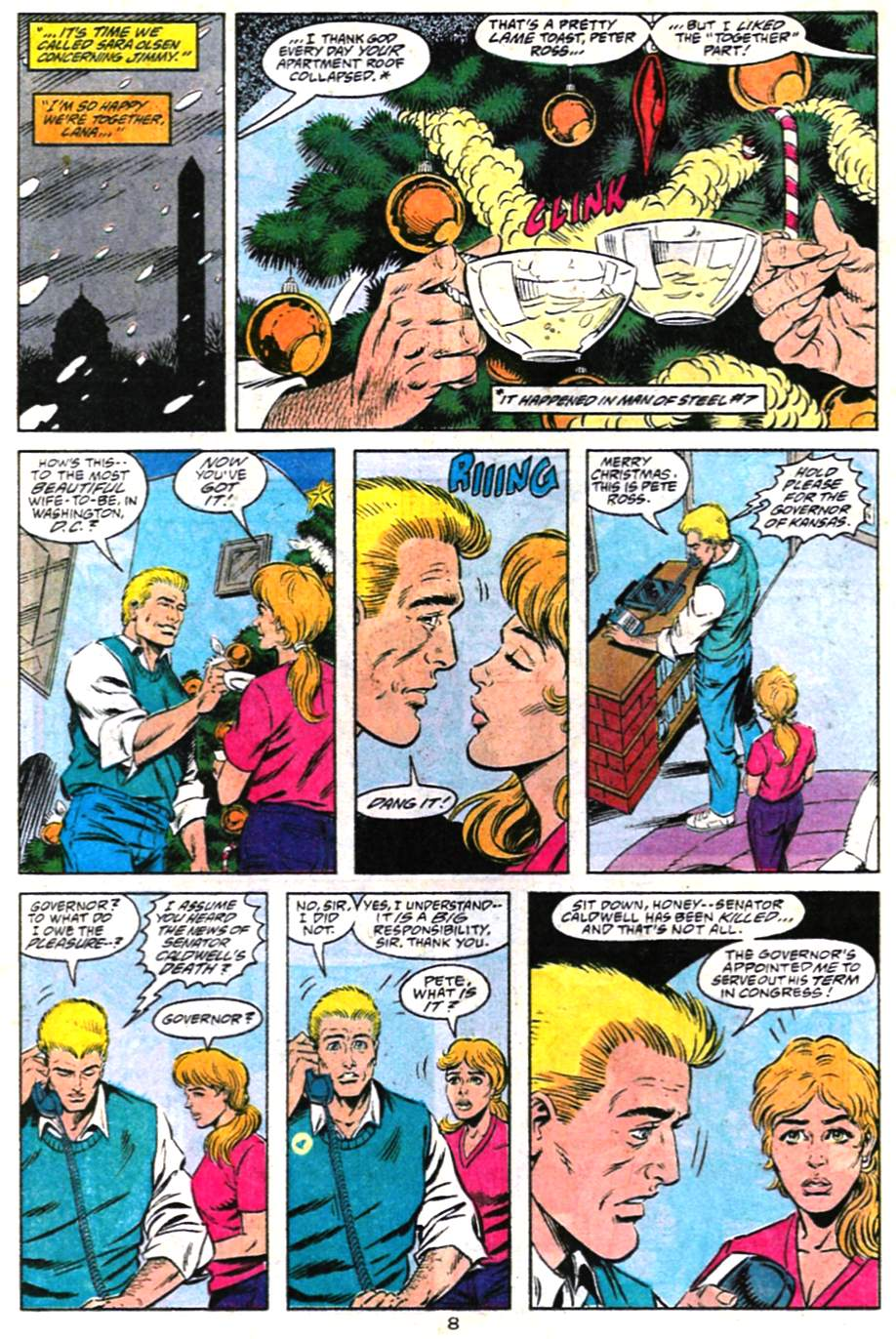Read online Adventures of Superman (1987) comic -  Issue #487 - 9