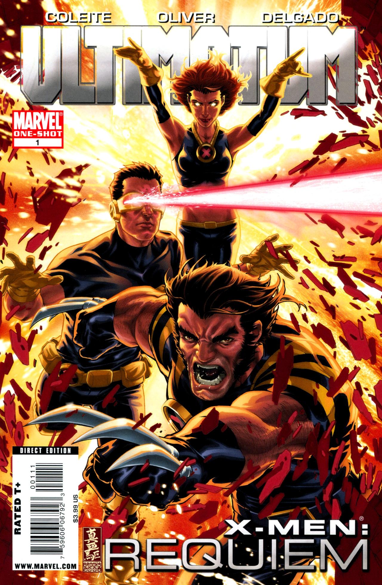Read online Ultimatum: X-Men Requiem comic -  Issue # Full - 1