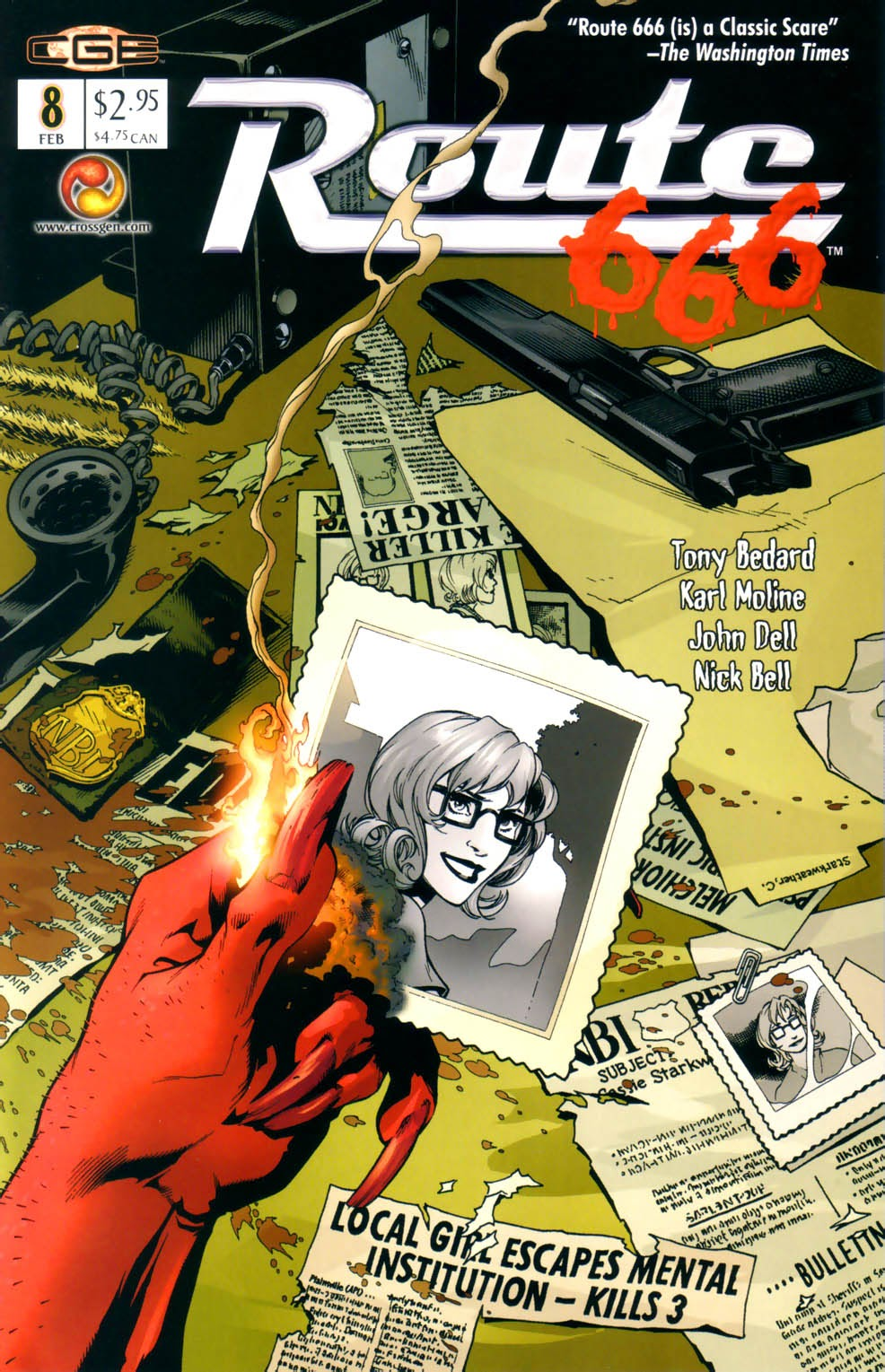 Read online Route 666 comic -  Issue #8 - 3