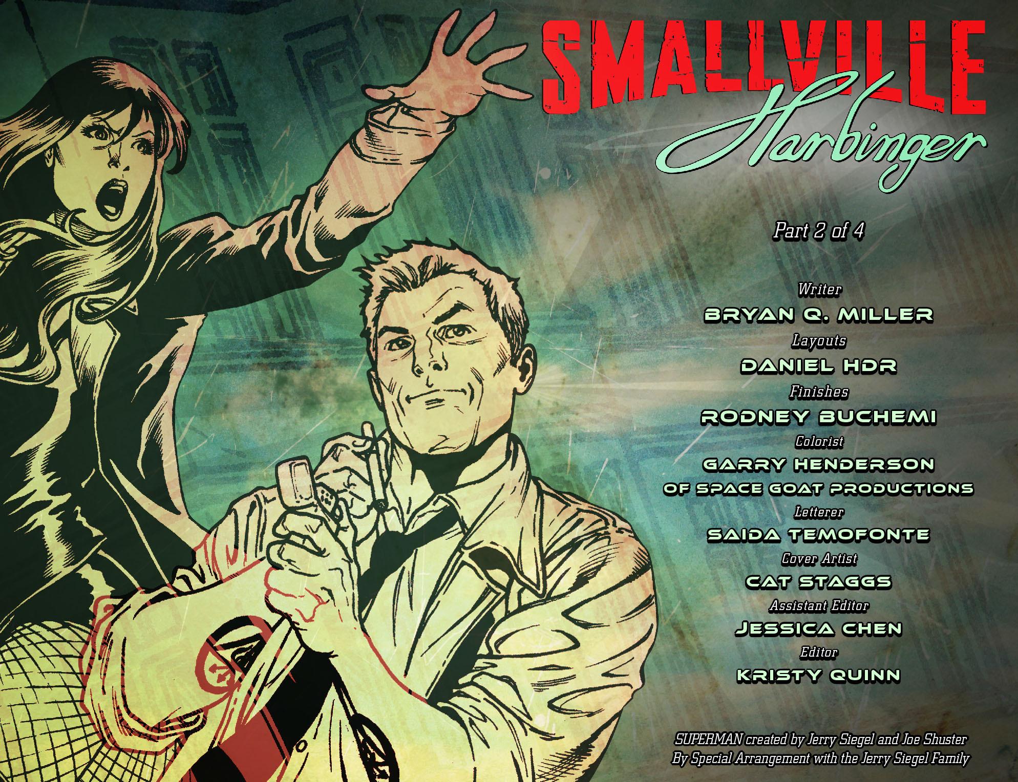Read online Smallville: Harbinger comic -  Issue #2 - 2