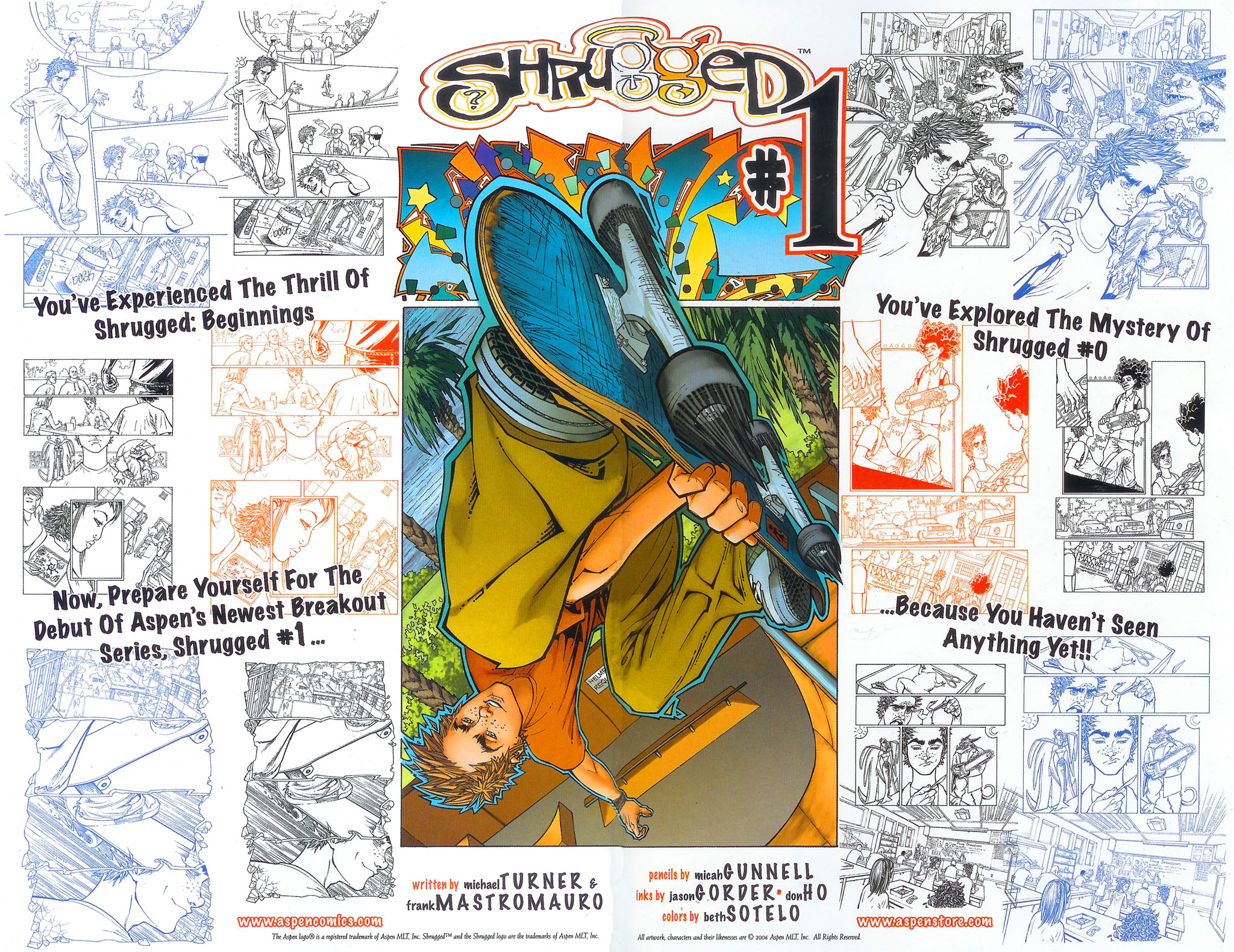 Read online Shrugged (2006) comic -  Issue #0 - 13