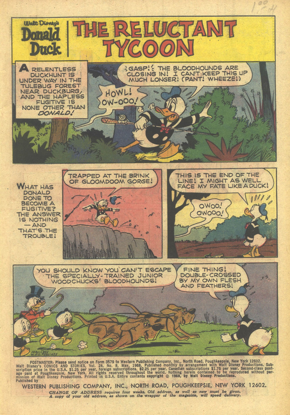 Walt Disney's Comics and Stories issue 332 - Page 3