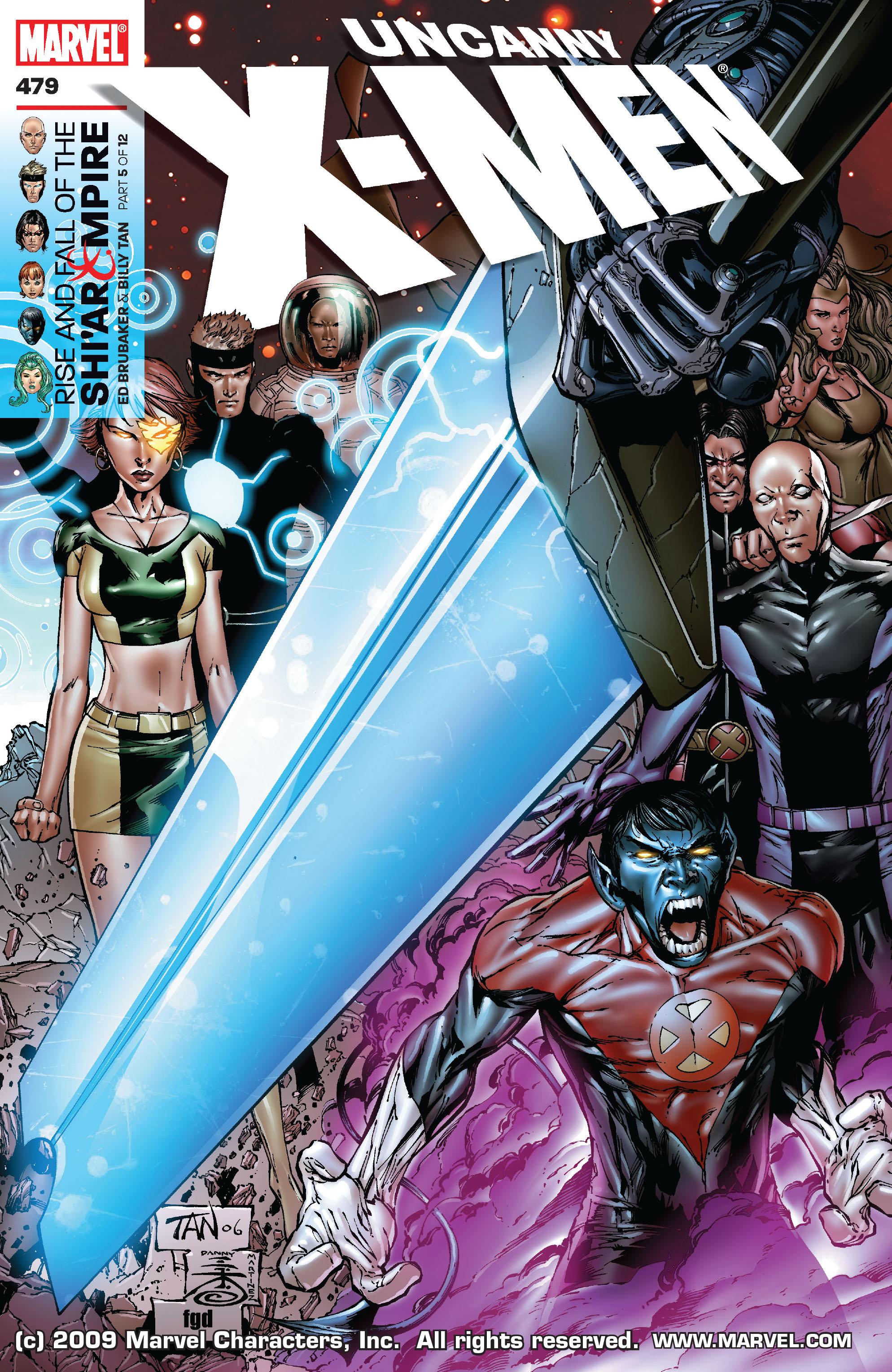 Uncanny X-Men (1963) 479 Page 1