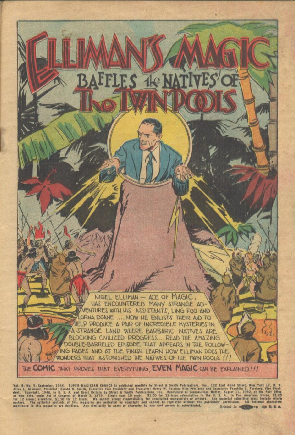 Super-Magician Comics issue 53 - Page 3