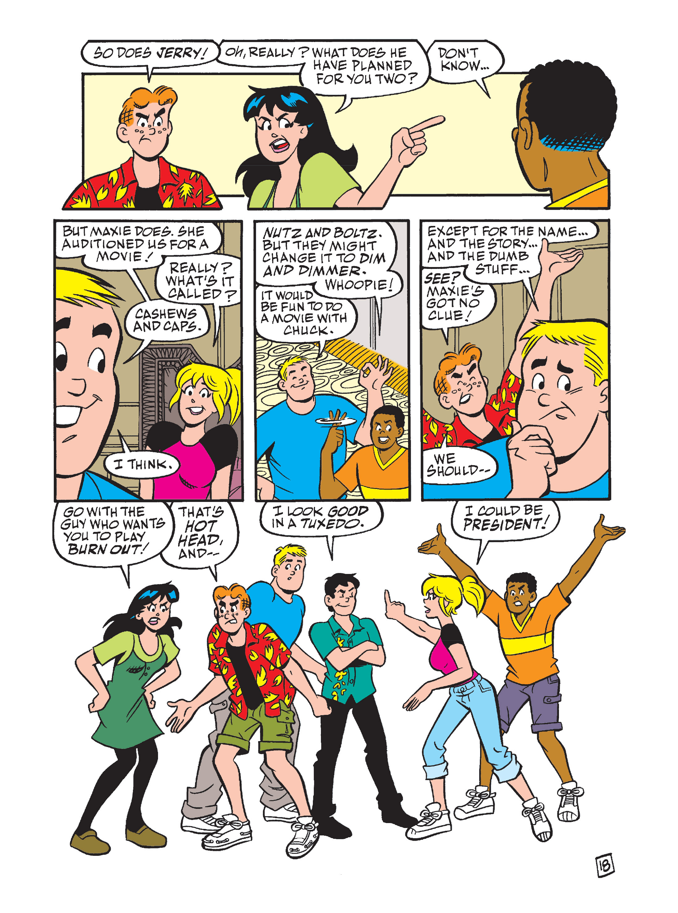 Read online Archie's Funhouse Double Digest comic -  Issue #7 - 53
