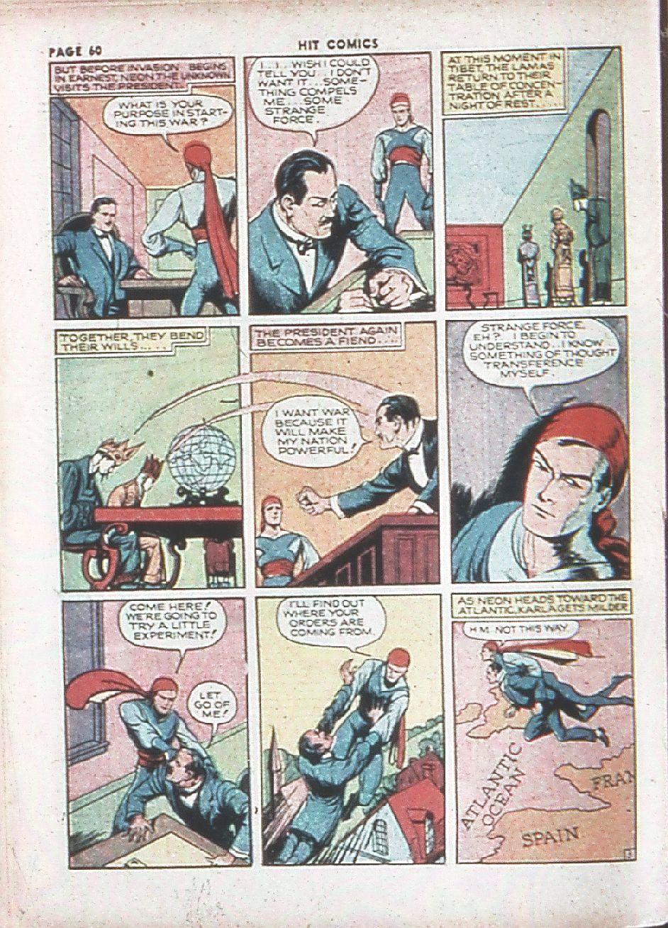 Read online Hit Comics comic -  Issue #7 - 62