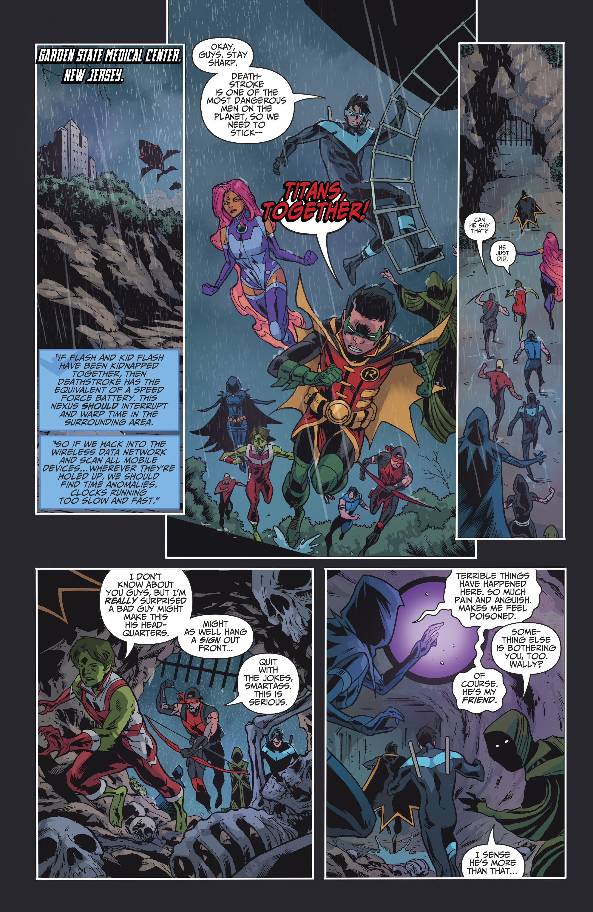 Read online Teen Titans (2016) comic -  Issue #8 - 19