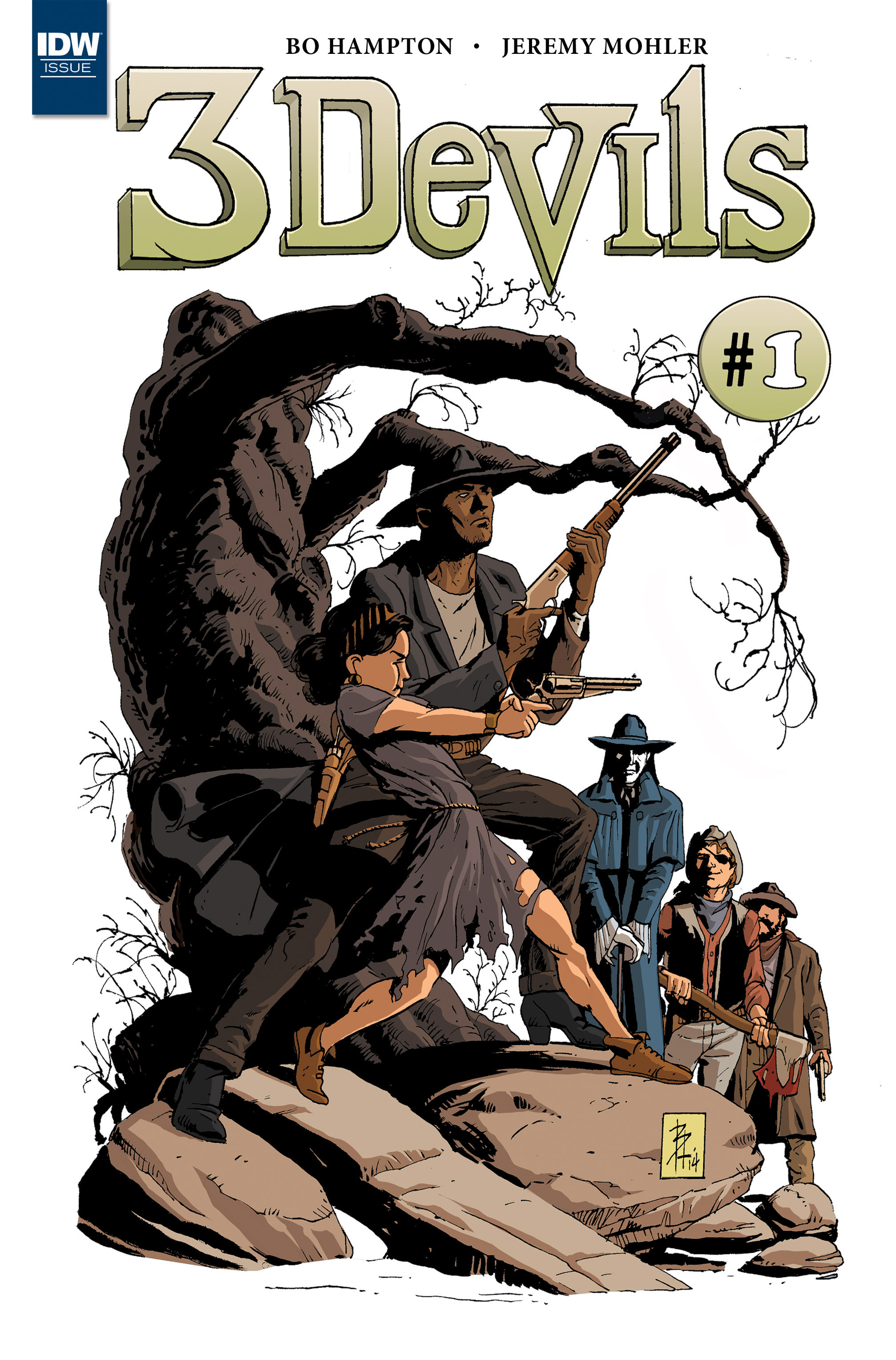 Read online 3 Devils comic -  Issue #1 - 1