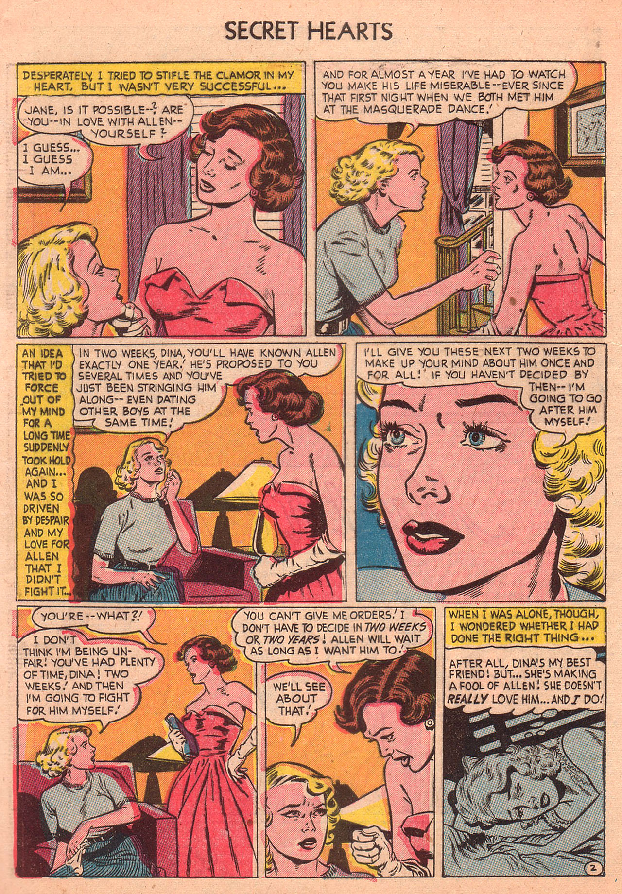 Read online Secret Hearts comic -  Issue #23 - 4
