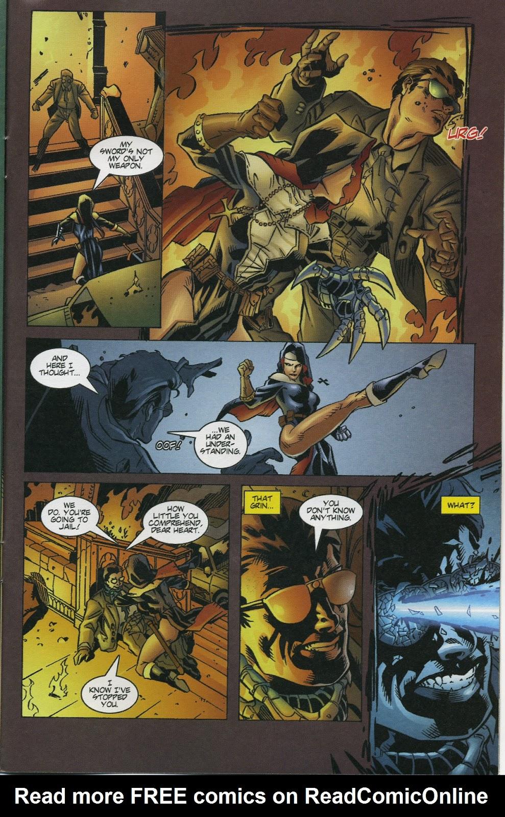 Warrior Nun Areala (1997) Issue #4 #4 - English 21