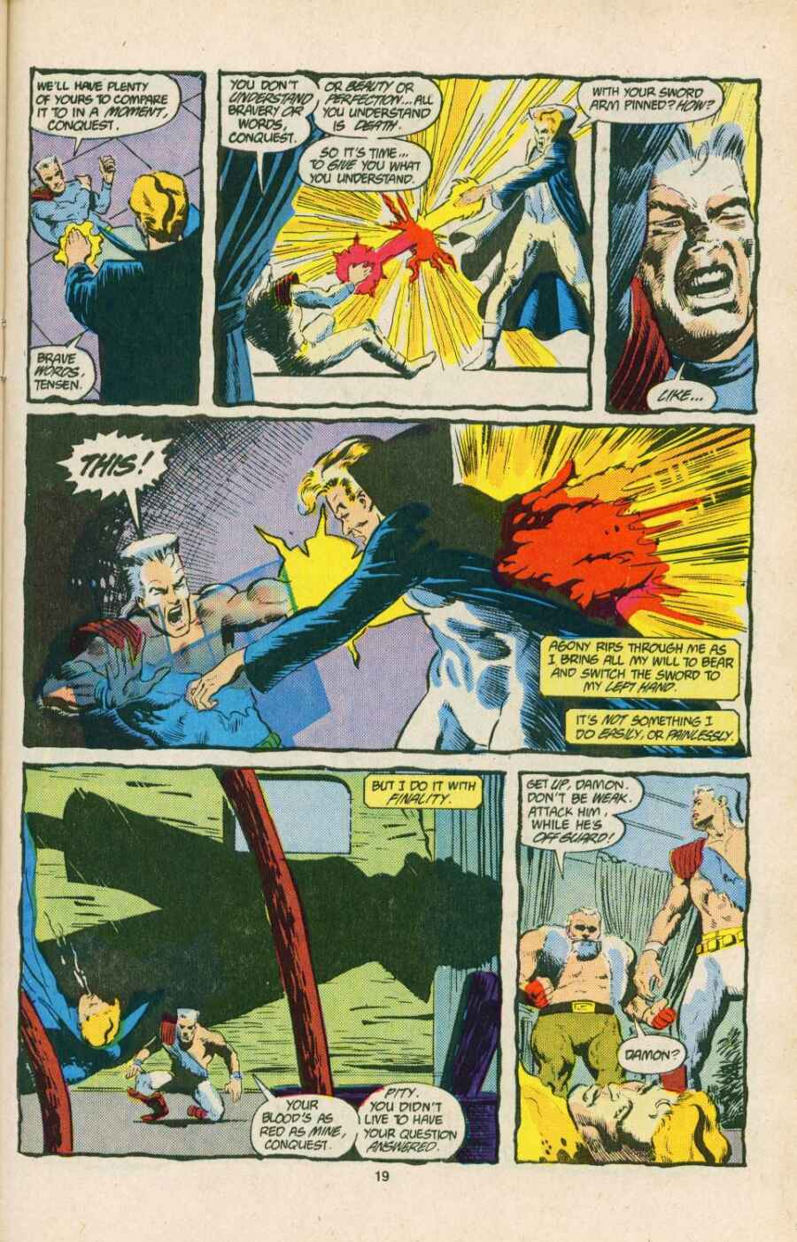 Read online Justice (1986) comic -  Issue #15 - 20