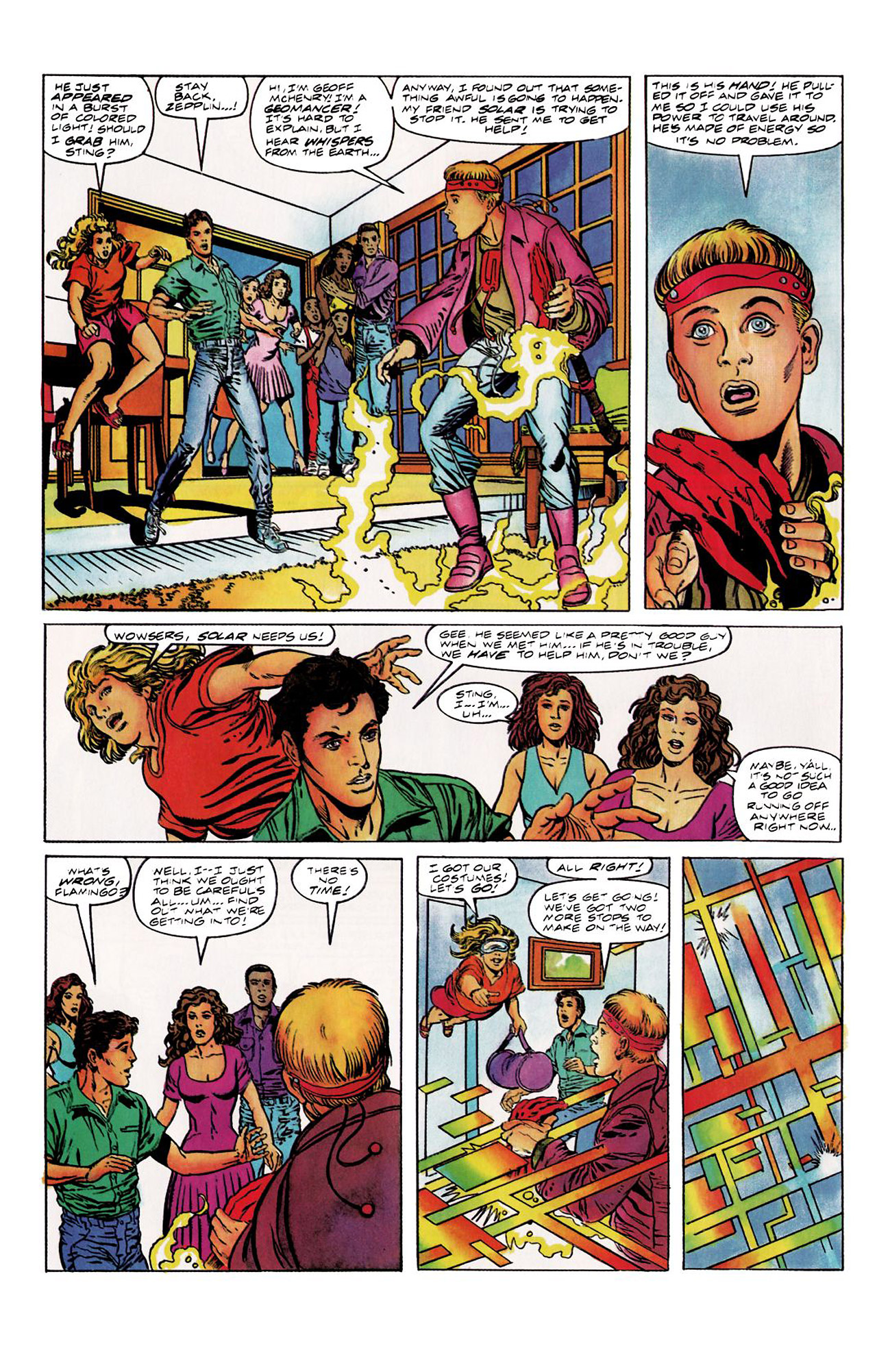 Read online Harbinger (1992) comic -  Issue #8 - 5
