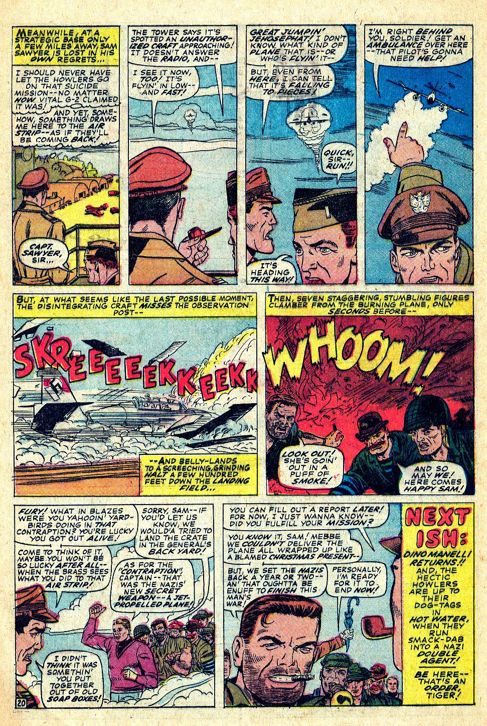 Read online Sgt. Fury comic -  Issue #39 - 28