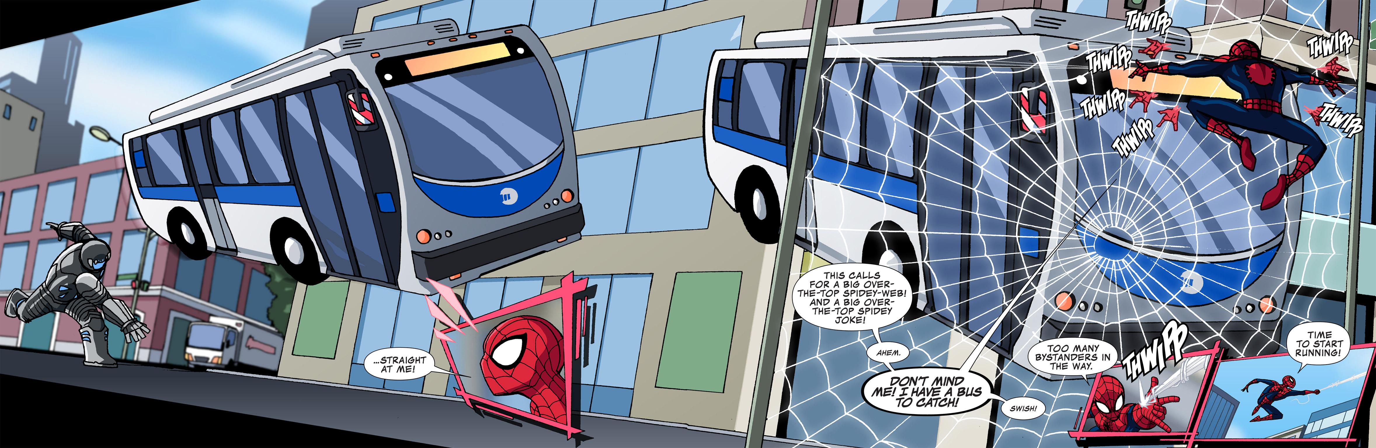 Read online Ultimate Spider-Man (Infinite Comics) (2015) comic -  Issue #4 - 22
