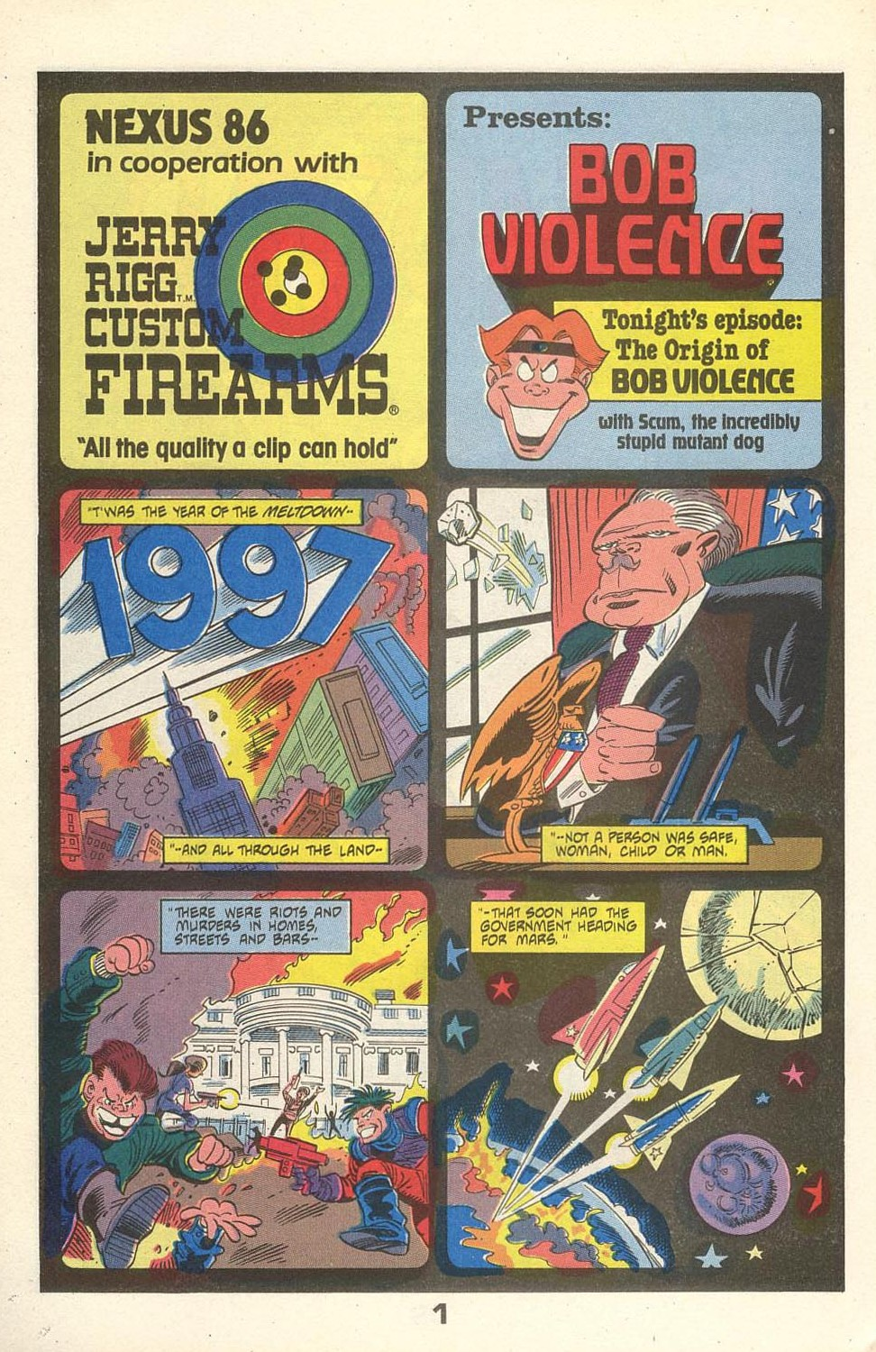 Read online American Flagg! comic -  Issue #31 - 26