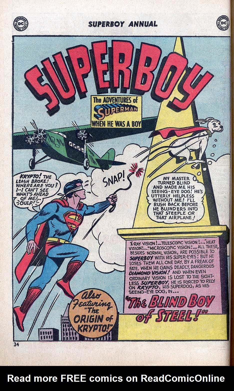 Superboy (1949) issue Annual 1 - Page 36
