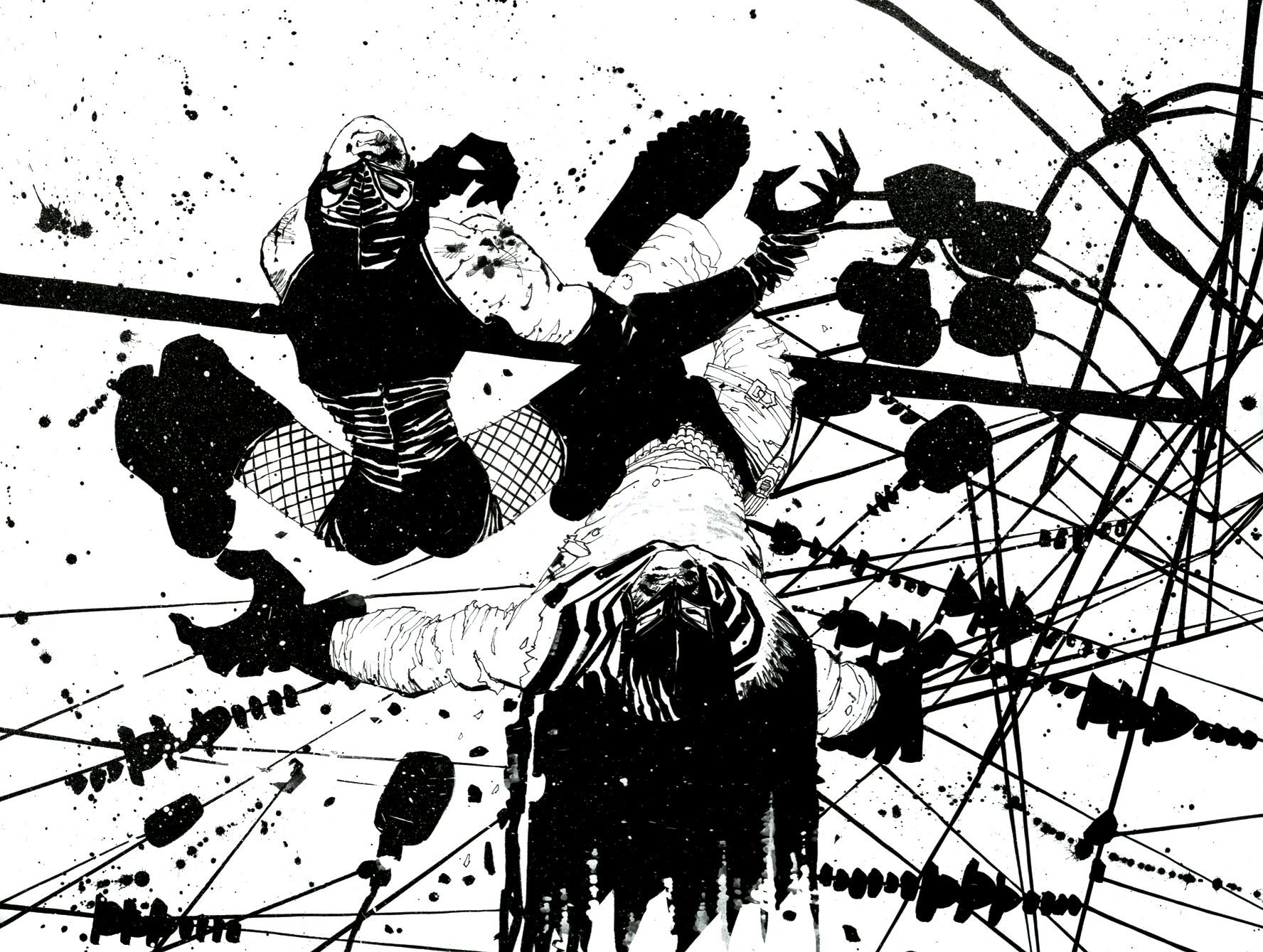 Read online Frank Miller's Holy Terror comic -  Issue # TPB - 73