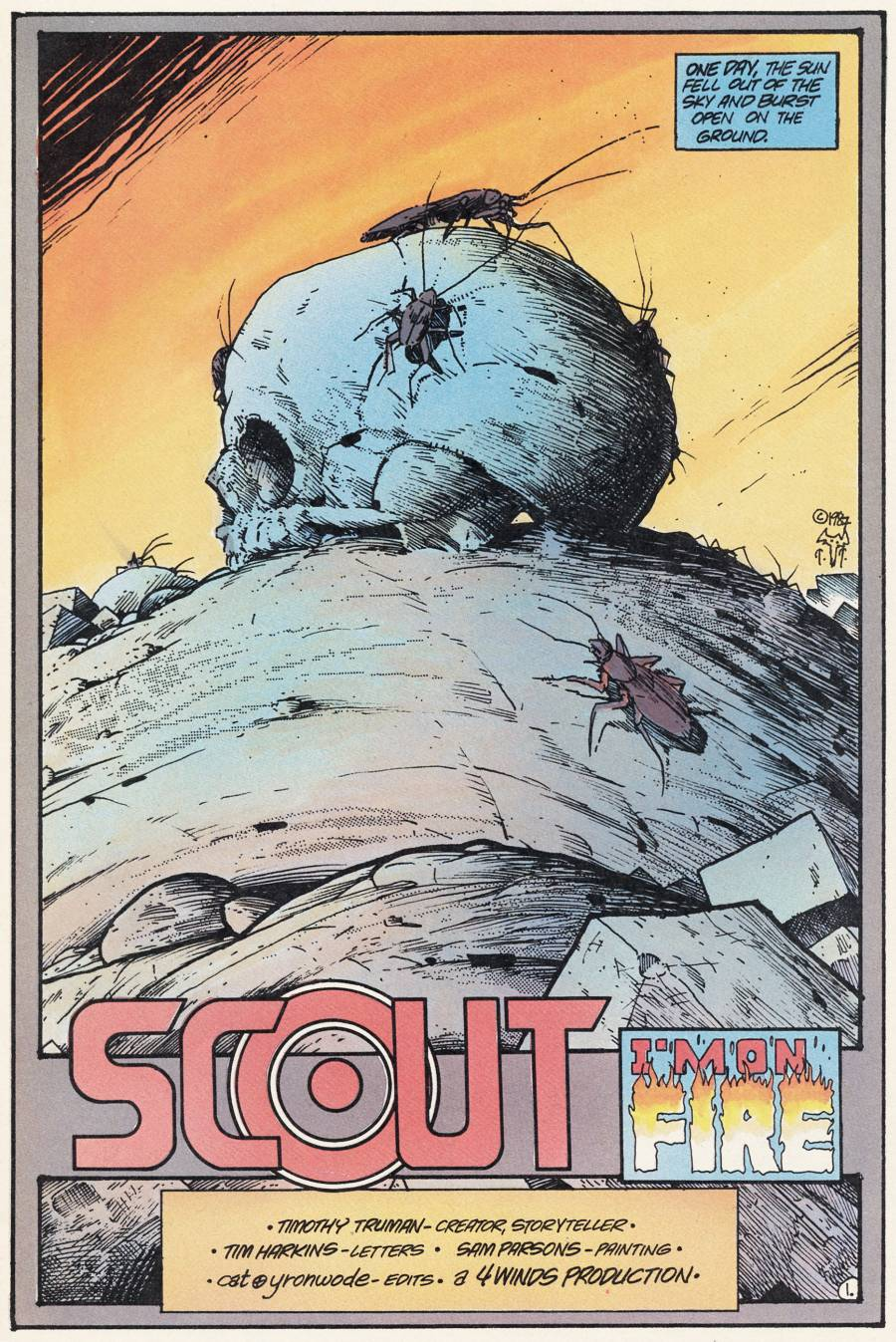 Read online Scout comic -  Issue #21 - 3