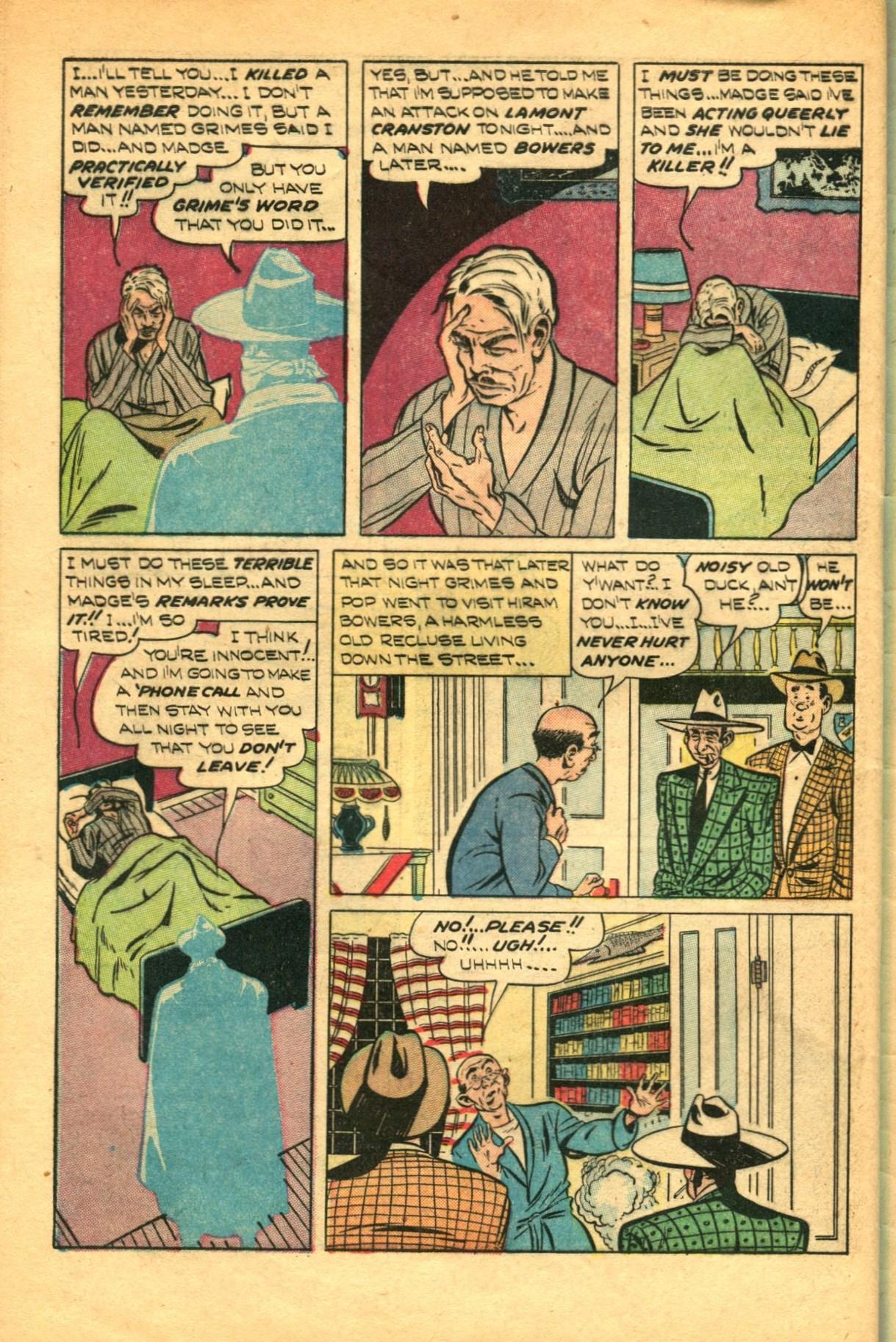 Read online Shadow Comics comic -  Issue #91 - 44
