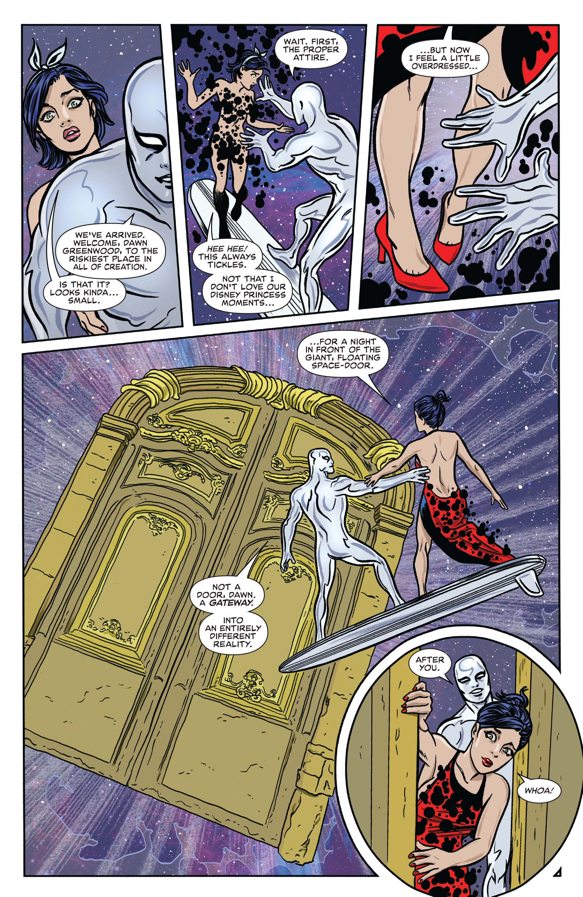 Read online Silver Surfer (2016) comic -  Issue #7 - 8