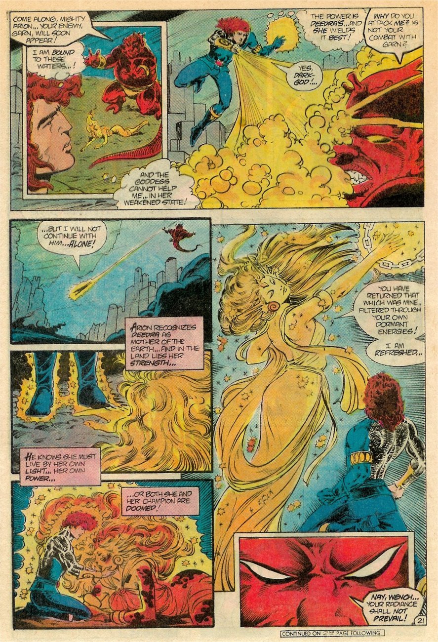 Read online Arion, Lord of Atlantis comic -  Issue #19 - 22