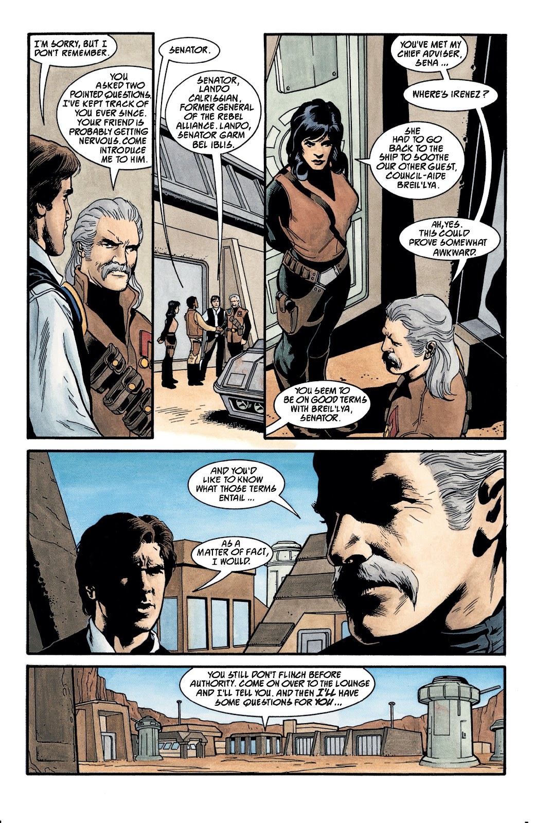 Read online Star Wars Legends: The New Republic - Epic Collection comic -  Issue # TPB 4 (Part 3) - 2