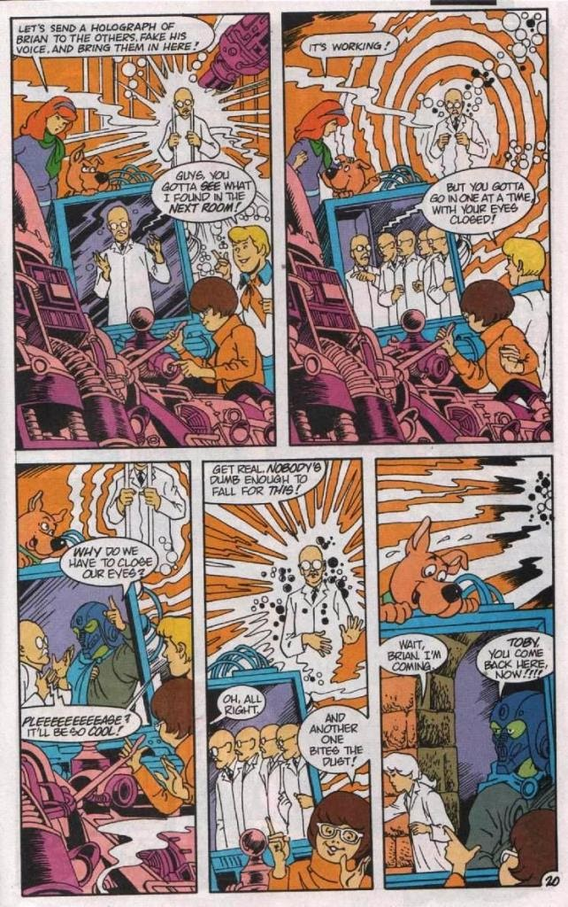 Read online Scooby-Doo (1995) comic -  Issue #5 - 21