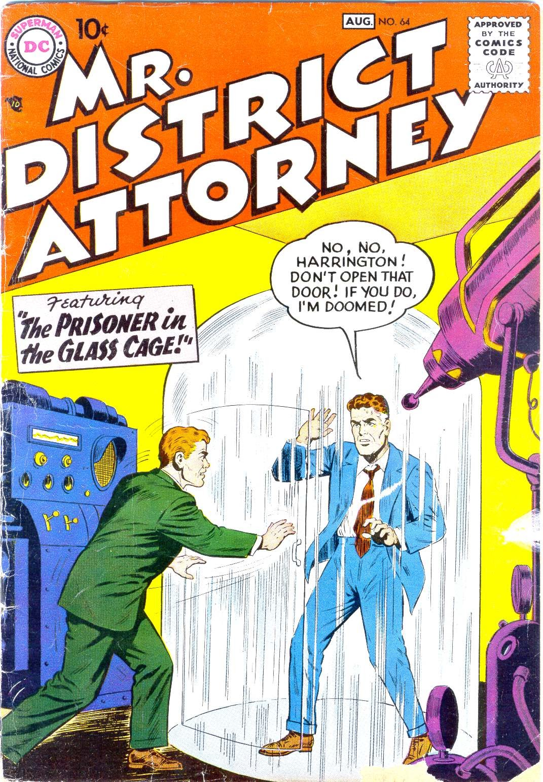Mr. District Attorney issue 64 - Page 1